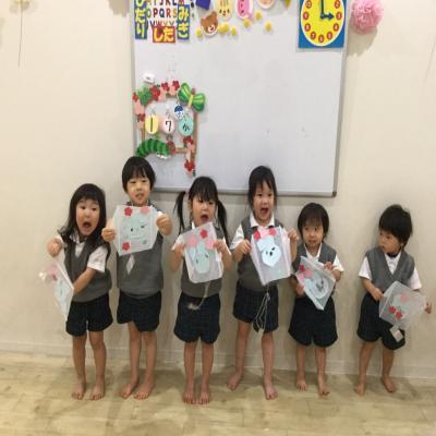 七草がゆと、たこ作り〜♪《大阪市中央区、長堀、心斎橋にある保育園ごせ》