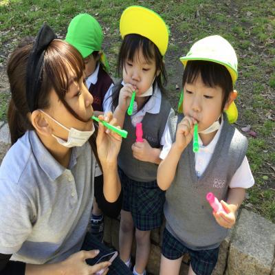 遠足《大阪市中央区、長堀橋にある学べる保育園HUGキッズ》