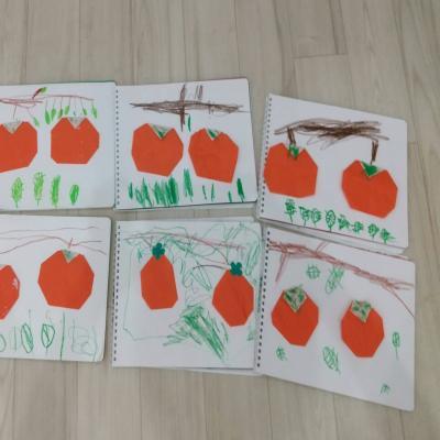 水曜日のカリキュラムは絵画です!《大阪市中央区心斎橋、長堀橋にある学べる保育園HUGキッズ》