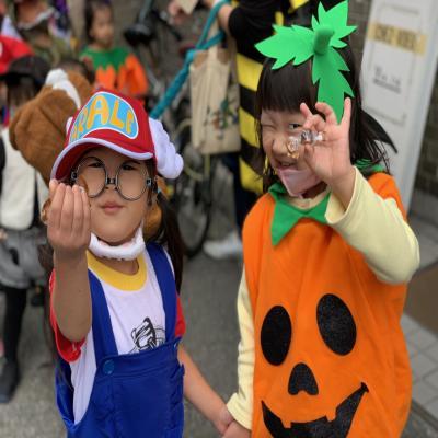 Happy Halloween ! 《大阪市中央区心斎橋、長堀橋にある学べる保育園HUGキッズ》