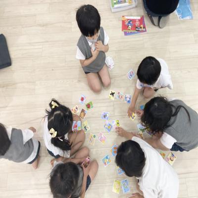 金曜日カリキュラムはワーク、課外授業です!《大阪市中央区心斎橋、長堀橋にある学べる保育園HUGキッズ》