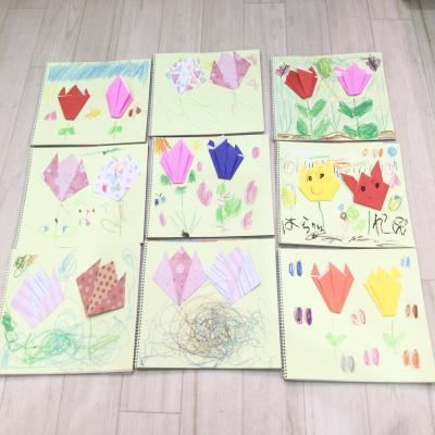 水曜日のカリキュラムは絵画です!《大阪市中央区長堀橋、心斎橋にある学べる保育園》
