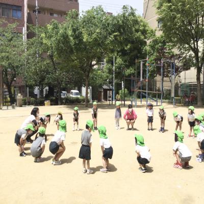 金曜日のカリキュラムは課外・基礎です!《大阪市中央区長堀橋、心斎橋にある学べる保育園》