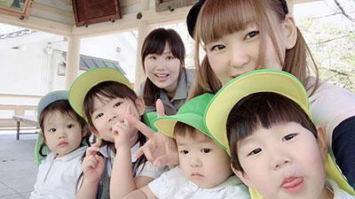 高津公園へ行ってきました♪《大阪市中央区心斎橋、長堀橋にある保育園》
