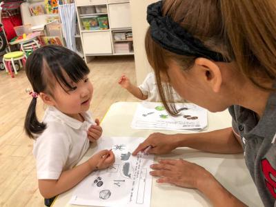 今週の基礎学習☆《大阪市中央区心斎橋、長堀橋にある保育園》