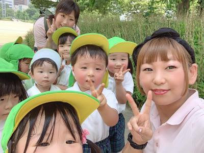 遠足で扇町公園に行ってきまきたー!«大阪市中央区心斎橋、長堀橋にある保育園»