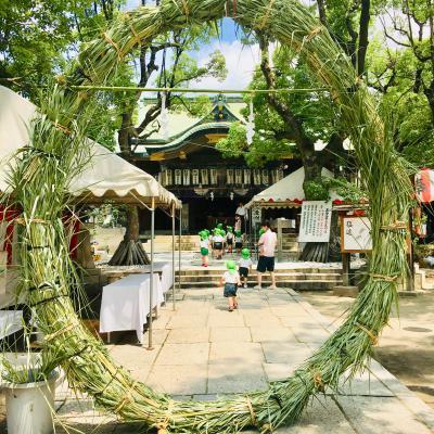 高津神社の夏祭りに行ってきました♫