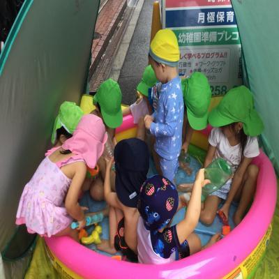 今年最後の水遊び!!《大阪市中央区心斎橋、長堀橋にある保育園》