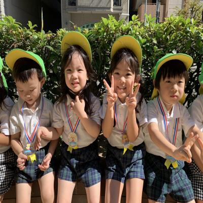 今日は運動会!«大阪市中央区、心斎橋にある保育園»