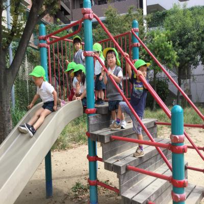 今日は公園にいきました!《大阪市中央区、長堀橋にある保育園》